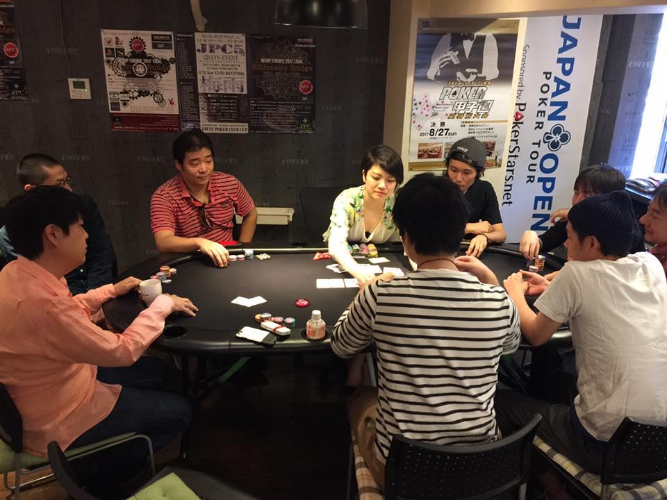 日本でのポーカー